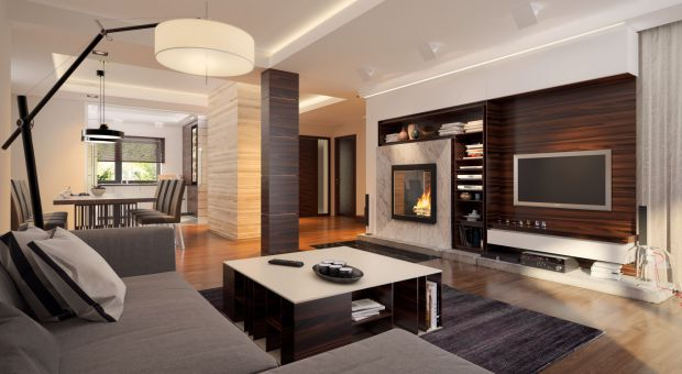 Nowoczesny piętrowy dom: zobacz jak go urządzić