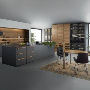 Kuchnia połączona z jadalnią. Fot. Leicht