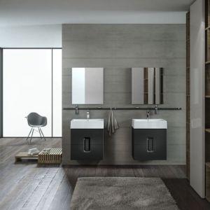 Podwieszane meble łazienkowe z kolekcji Twins marki Koło. Fot. Koło