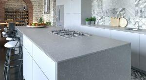 Z konglomeratu kwarcytowego można wykonać m.in. blaty kuchenne, okładziny ścienne, podłogowe, schody oraz obudowy kominków.