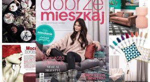 Gwiazdą najbliższego wydania Dobrze Mieszkaj jest Honorata Skarbek. Znana i popularna wokalistka i blogerka zaprosiła nas do swojego mieszkania, w którym odbyła się sesja zdjęciowa prezentowana w tym numerze.