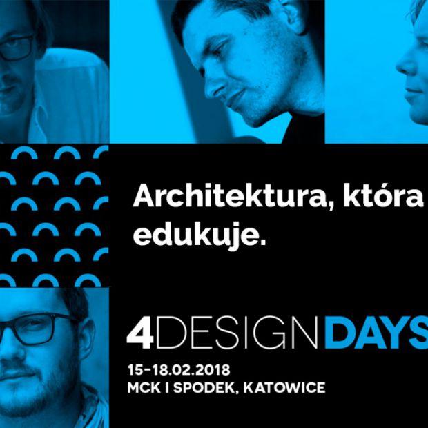 Architektura, która edukuje. O tym na 4 Design Days
