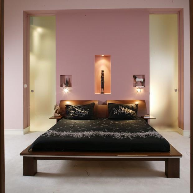 Sypialnia: wystrój inspirowany Japonią