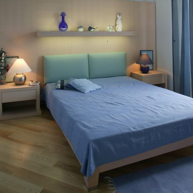 Mała sypialnia z pomysłem