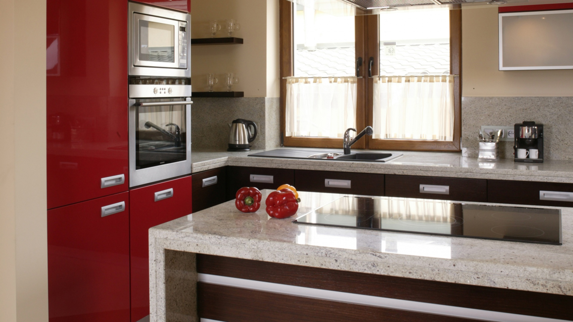 Czerwone Meble W Kuchni Pomysł Na Nowoczesną Aranżację Wnętrza