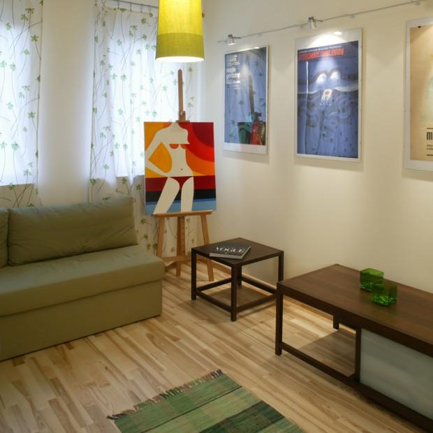 Zielony wystrój gościnnej sypialni: mieszkaj optymistycznie