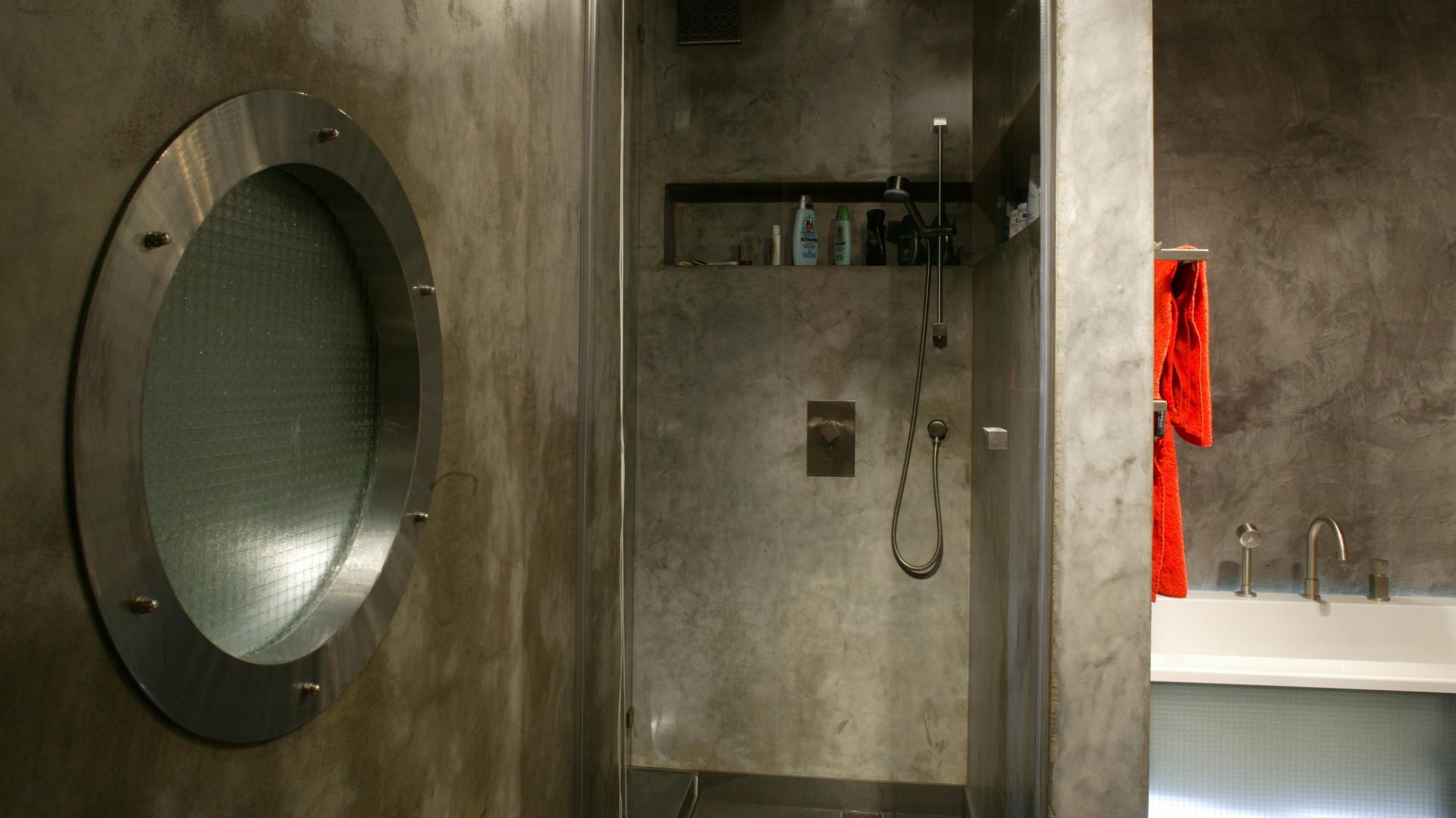 Beton W łazience Industrialny Wystrój Na Czasie