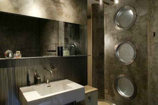 Beton w łazience: industrialny wystrój na czasie!