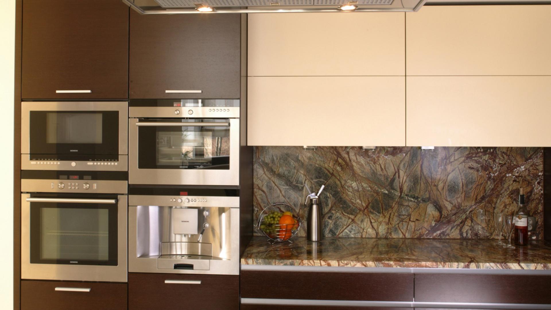 Kamień W Kuchni Postaw Na Granit Na Wyspie
