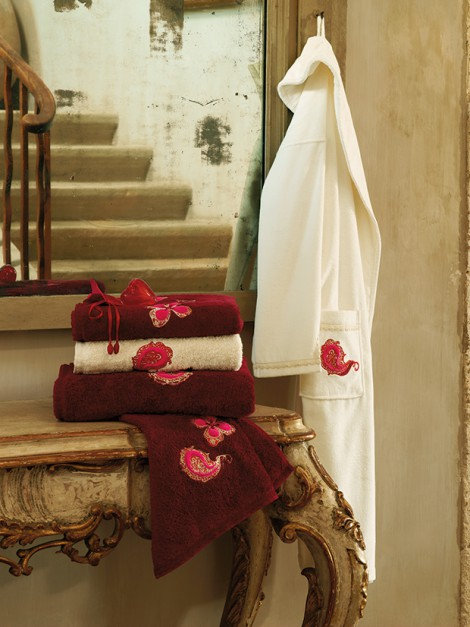Carre Blanc ręcznik