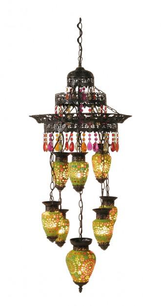 Kare design lampa