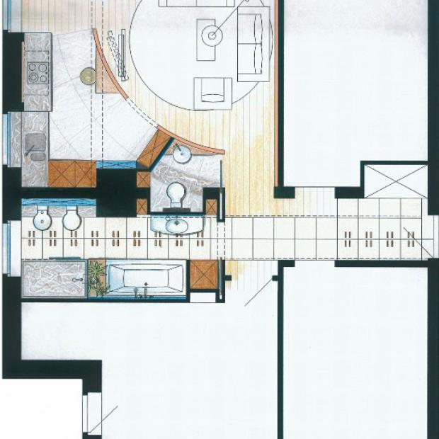 Projektant radzi: jak oddzielić salon od kuchni