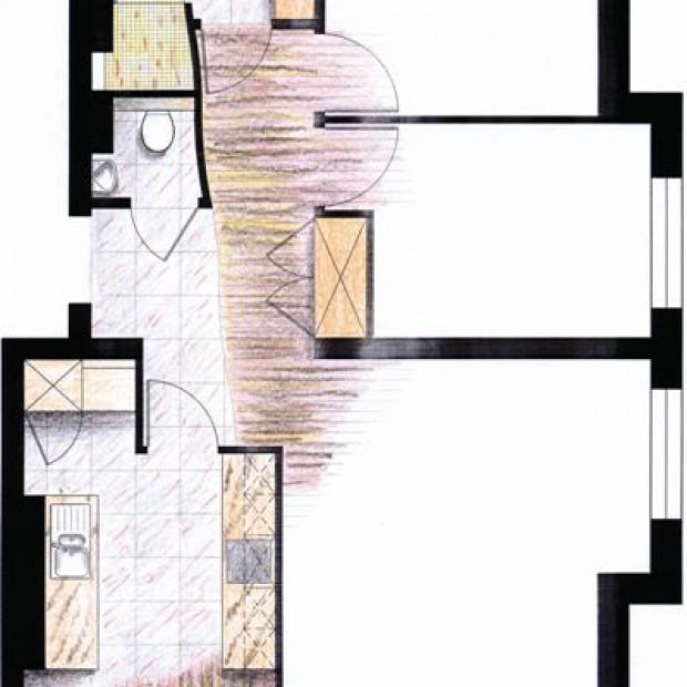 Projektant radzi: jak powiększyć kuchnię i łazienkę