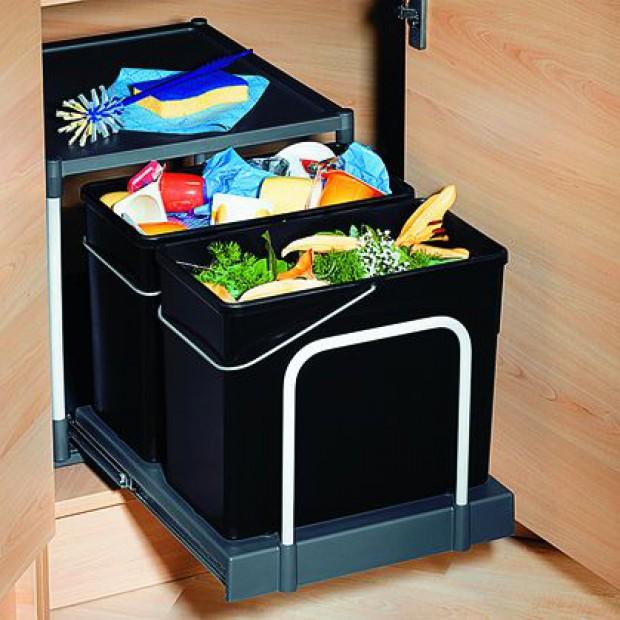 Sortowniki odpadów - pomocne w kuchni