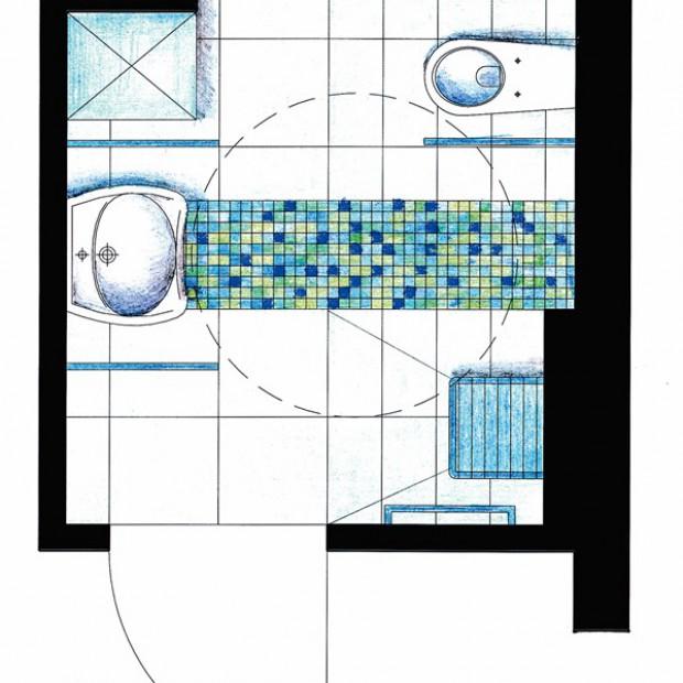 Łazienka dla osoby niepełnosprawnej