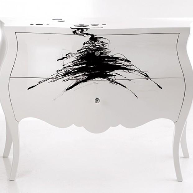 Czarno-białe meble i dekoracje: to jest modne!
