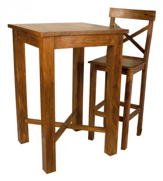 Indigo stół i kzesło