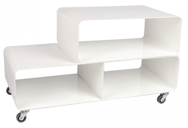 Kare Design/Glamstore regał na kółkach