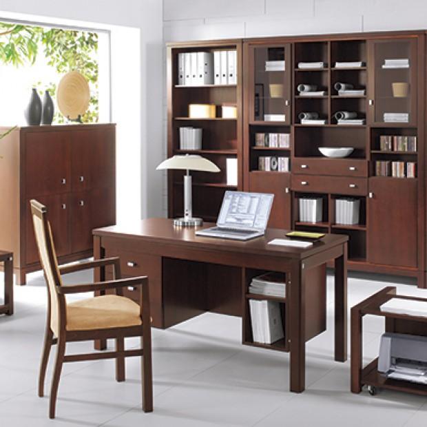 Urządzamy miejsce do pracy w domu: biurka, fotele, regały
