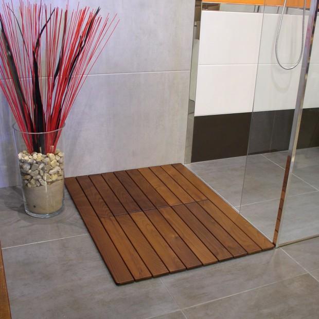 Natura drewnianej podłogi