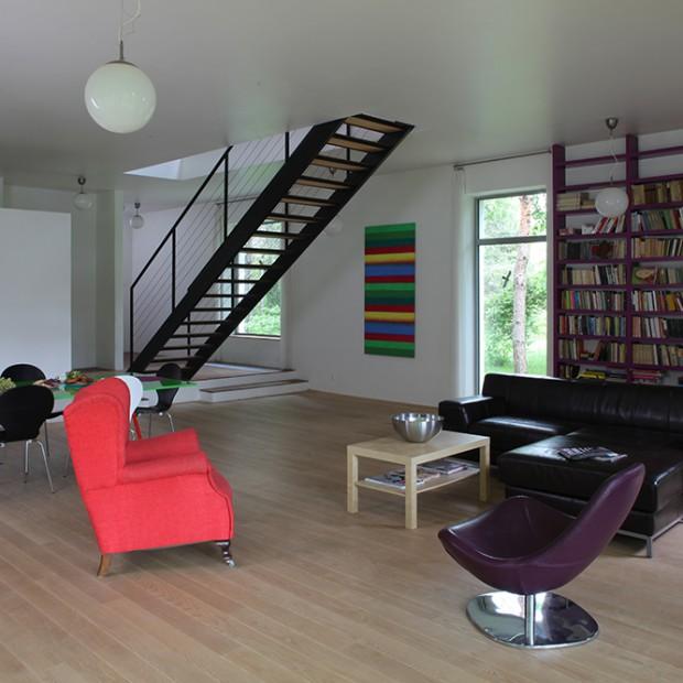 Jak mieszka artysta? Zobacz dom malarza Jacka Ziemińskiego
