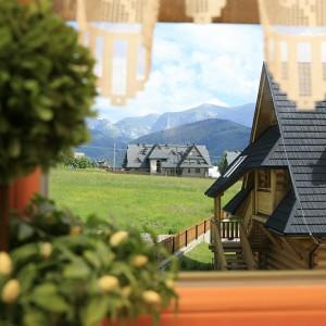 Tatry za oknem to spełnione marzenie Pani Elżbiety. Fot. Bartosz Jarosz.