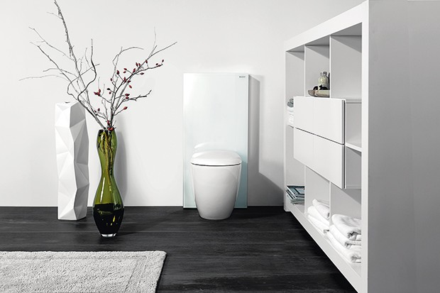Gdy już mamy zainstalowany system podtynkowego spłukiwania, pozostaje nam rzecz najciekawsza – estetyczne wykończenie pasujące do wystroju łazienki. A jest z czego wybierać!