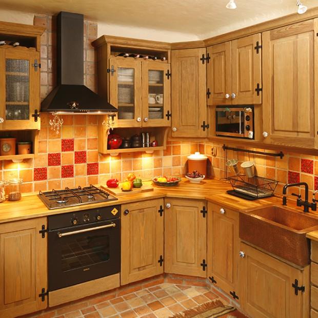 Kuchnia pełna domowego ciepła: orientalna aranżacja