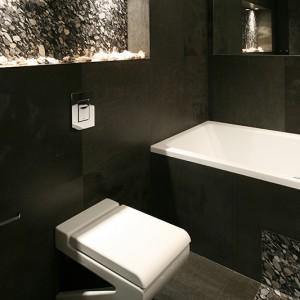 Wyposażenie łazienki miało być proste o ciekawych kształtach, ale bez nadmiernej przesady. Fot. Bartosz Jarosz.