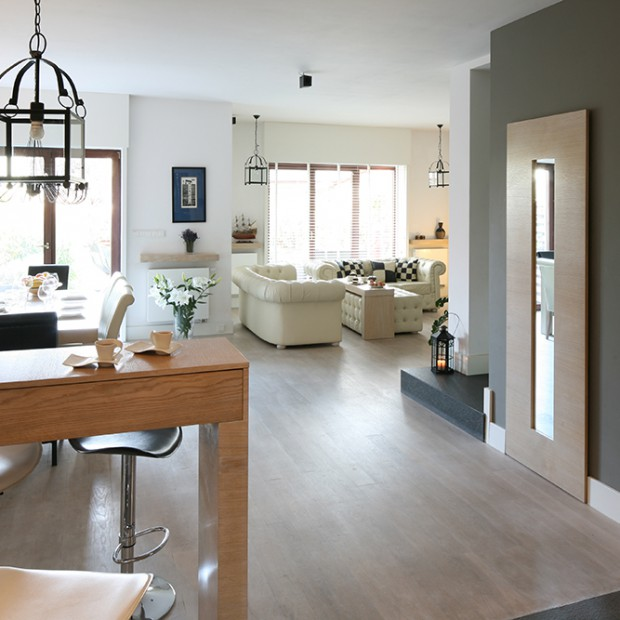 W skandynawskim stylu: wygodny dom dla rodziny