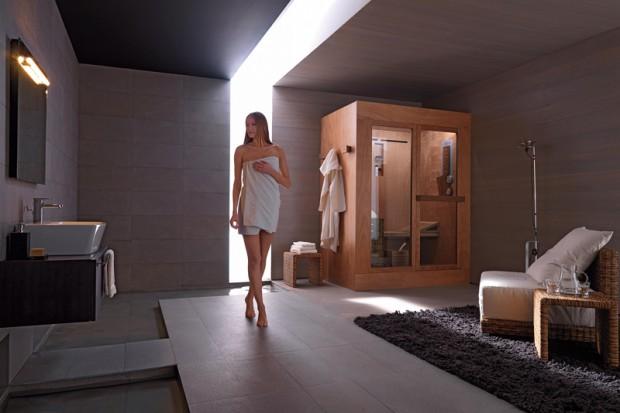 Relaks pod prysznicem