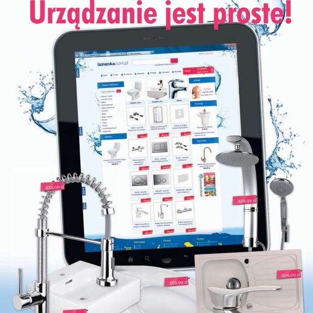 Lazienka.com.pl: nowy sklep z wyposażeniem łazienki