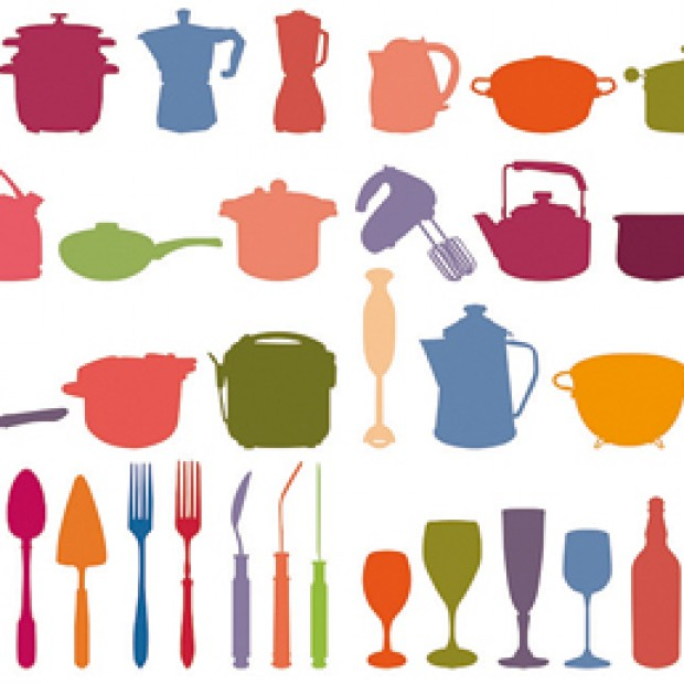 Wesołe dekoracje do kuchni. Żyj kolorowo!