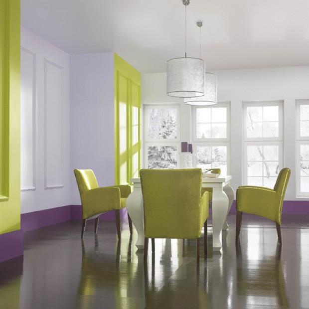 Ściana w kolorze