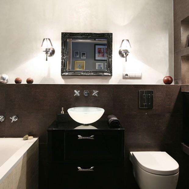 Łazienka w kolorach ziemi: możesz ją pokochać