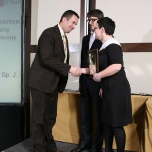 Drugą nagrodę w kategorii Podłogi otrzymała marka Domino.