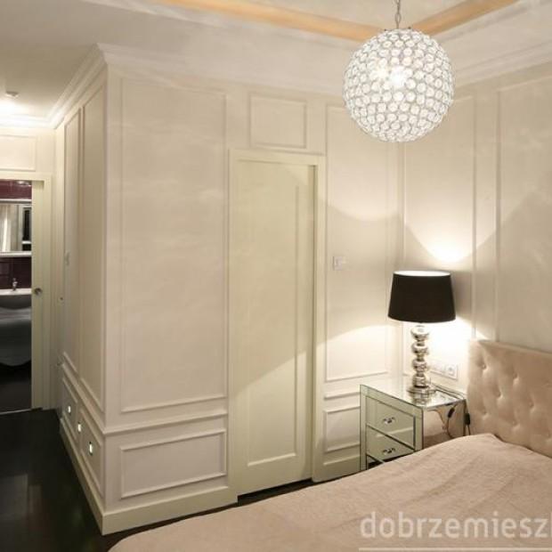 28 sypialni z ciekawymi szafkami nocnymi