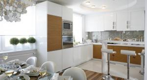 Zobaczcie najlepsze aranżacje kuchni z krzesłami barowymi z archiwum Dobrzemieszkaj.pl.