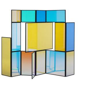 Parawan projektu Camilli Richter - pokazywany na wystawie Next. Fot. Cappellini, www.cappellini.it