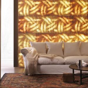 Pietro Luminose to naturalny kamień z efektem 3D, który stworzy piękne sceny świetlne. Fot. Lithos Design, www.lithosdesign.com