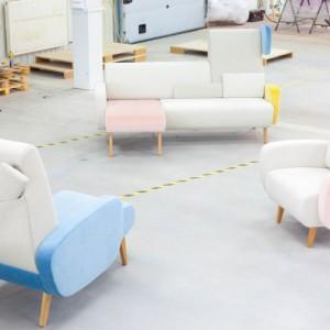 Sofa Teddy Bear. Wystawa Must have from Poland w Mediolanie. Fot. NOTI