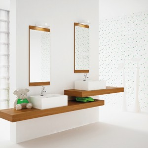 Kolekcja blatów CA275 dostępnych w różnych wymiarach, które pozwalają na dowolną aranżację łazienki. Na zamówienie, Noclaf.