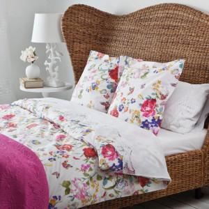 Komplet pościeli Percale Flowers. Materiał: bawełna. Cena: od ok. 239 zł (poszwa na kołdrę, w zależności od rozmiaru), Zara Home.
