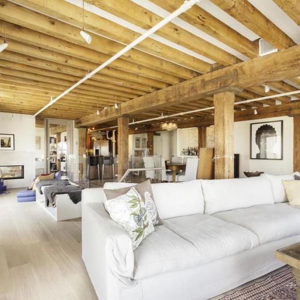 Loft inspirowany marynarskim stylem