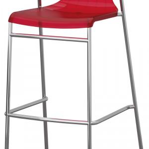 Elmer – siedzisko wykonane z tworzywo poliwęglowego, podstawa z tworzywa polipropylenowego; specjalna powłoka dodatkowo zabezpiecza siedzenie przed zarysowaniem; wys. 98 cm. Cena: ok. 299 zł, IKEA.