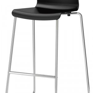 Glenn – siedzisko kubełkowe wykonane z tworzywa poliwęglowego, podstawa: tworzywo polipropylenowe; wys. 89 cm. Cena: ok. 199 zł, IKEA.