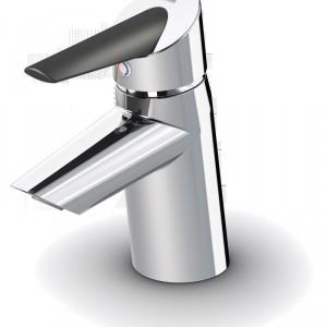Optima – specjalny, antypoślizgowy element na uchwycie, ułatwia uruchomienie kranu; wyposażona w aerator; materiały użyte w elementach, przez które przepływa woda nie zawierają ołowiu. Cena: od ok. 552 zł, Oras.