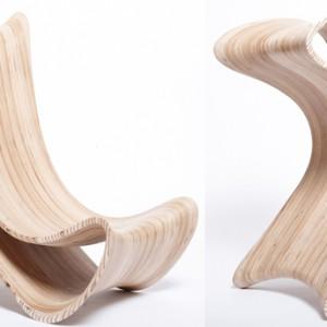 TriWing to nowatorskie wielofunkcyjne siedzisko, które posiada aż 6 różnych możliwości ustawienia! Z powodzeniem może służyć jako krzesło do jadalni,   leżanka, siedzisko do czytania czy krzesło i biurko w jednym. Marco Hemmerling.