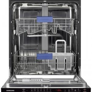 Zmywarka DW-BG570B o szer. 60 cm, poj. 13 kompletów naczyń, 7 programów zmywania, funkcja opóźnionego startu – do 24 godzin, funkcja Flex Wash, regulowany górny kosz, koszyk na sztućce ErgoFlex, klasa energetyczna A . Cena: ok. 2.849 zł, Samsung.