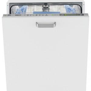 Zmywarka DIN 5837 w pełni zintegrowana, szer. 60 cm, poj. 12 kompletów naczyń, wyświetlacz LCD, 8 programów (w tym zmywanie wstępne, Auto 40-60°C, Quick&Clean 60°C i BabyProtect), Waterstop, klasa energetyczna A . Cena: ok. 2.499 zł, Beko.